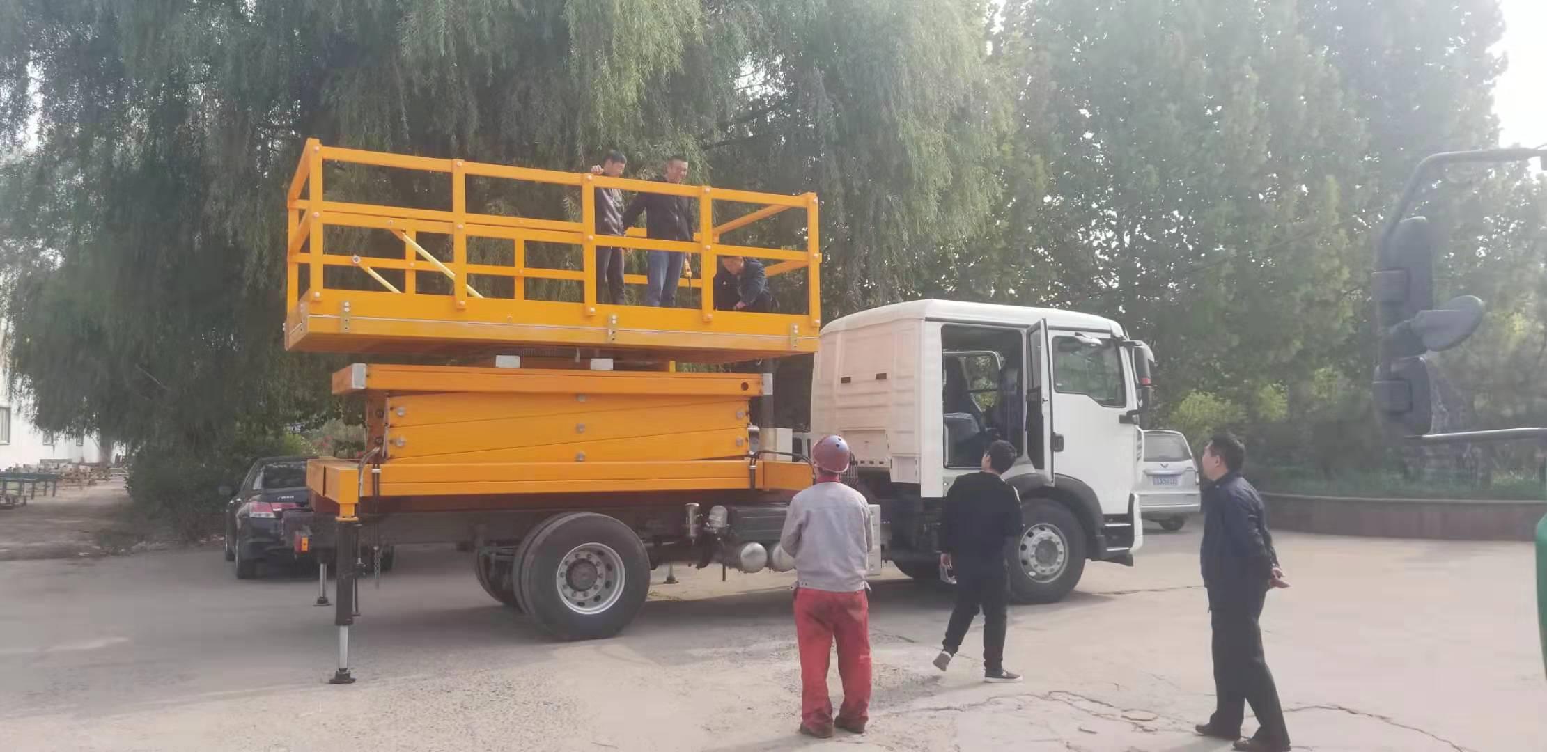 上海客户来公司验收车载式雷竞技app为什么打不开机
